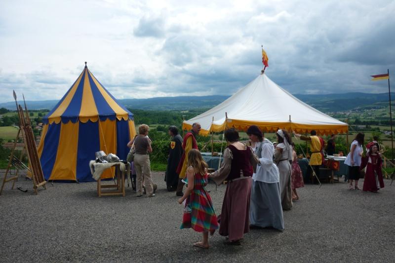 grande fete médiévale de montverdun pour le compte de l'assocoiation histoire et patrimoine 33310