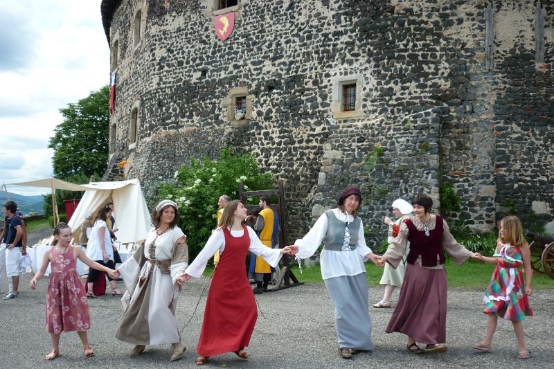 grande fete médiévale de montverdun pour le compte de l'assocoiation histoire et patrimoine 33410