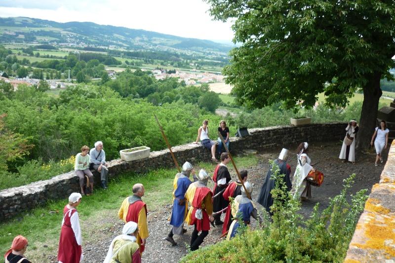 grande fete médiévale de montverdun pour le compte de l'assocoiation histoire et patrimoine 33510