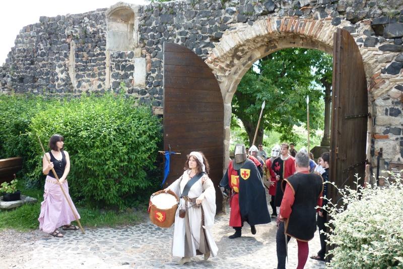 grande fete médiévale de montverdun pour le compte de l'assocoiation histoire et patrimoine 33610