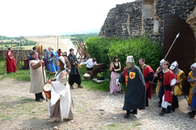 grande fete médiévale de montverdun pour le compte de l'assocoiation histoire et patrimoine 33710