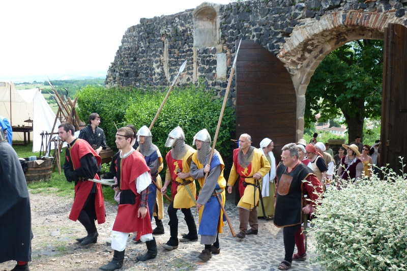 grande fete médiévale de montverdun pour le compte de l'assocoiation histoire et patrimoine 33810