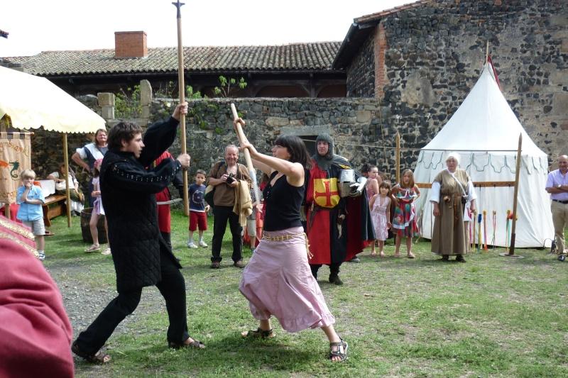 grande fete médiévale de montverdun pour le compte de l'assocoiation histoire et patrimoine 34410