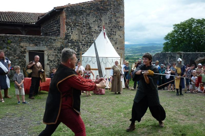 grande fete médiévale de montverdun pour le compte de l'assocoiation histoire et patrimoine 36010