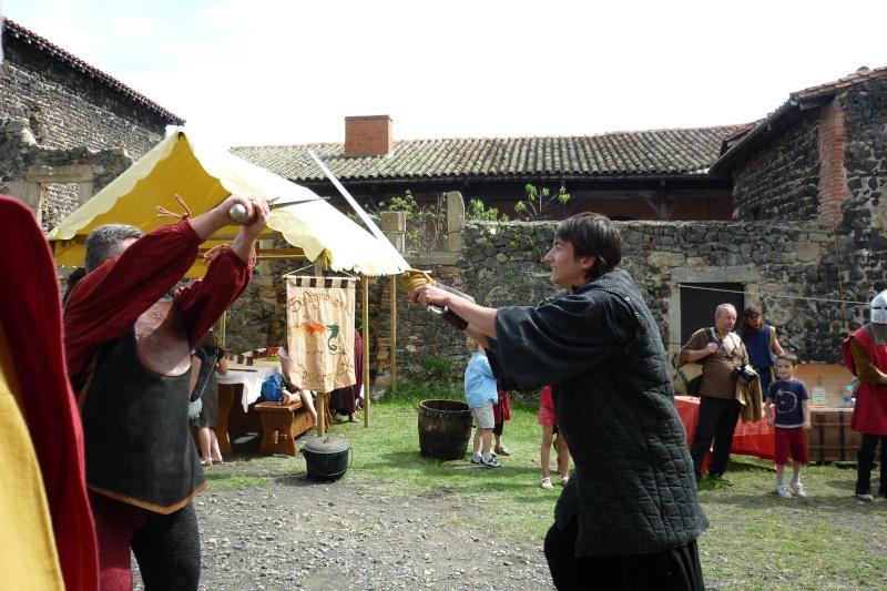 grande fete médiévale de montverdun pour le compte de l'assocoiation histoire et patrimoine 36410