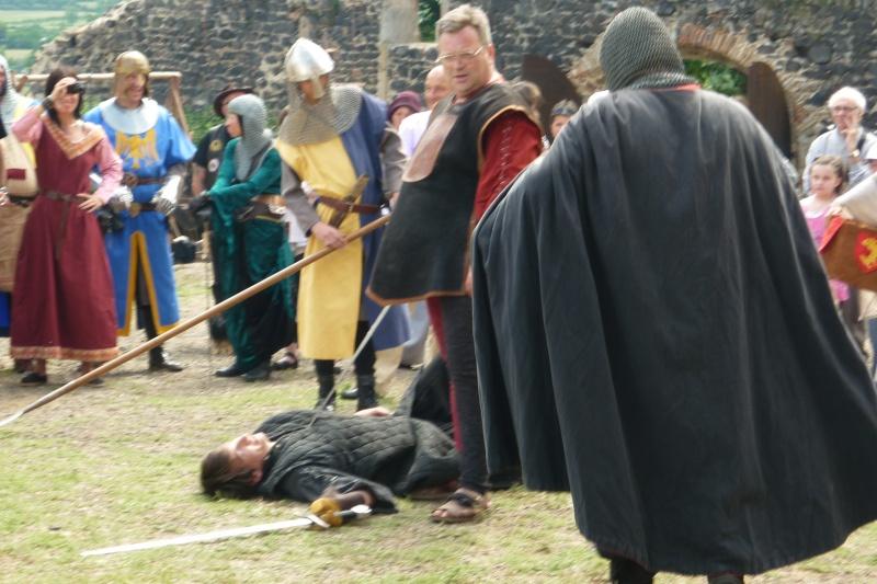 grande fete médiévale de montverdun pour le compte de l'assocoiation histoire et patrimoine 36610
