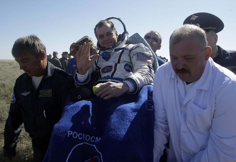 Atterrissage de Soyouz TMA-17 02062013