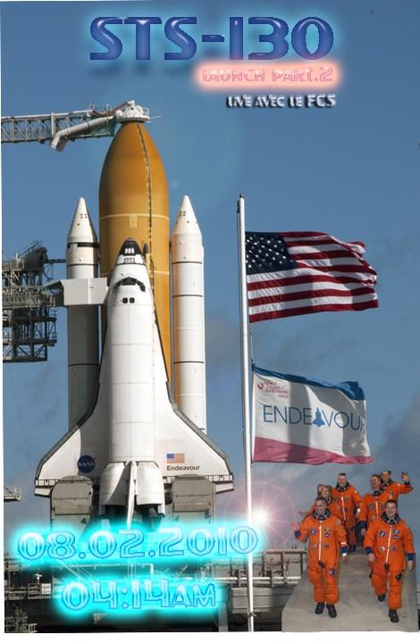 [STS-130] Endeavour : lancement (08/02/2010) 2010-110