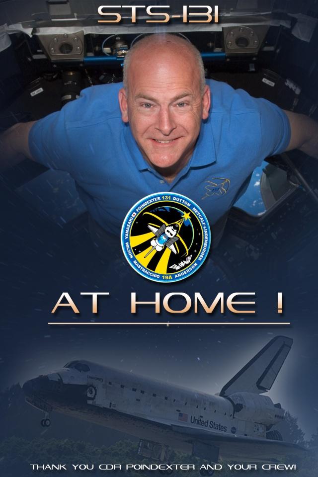 [STS-131 / ISS19A] Discovery : déroulement de la mission - Page 23 Athome11
