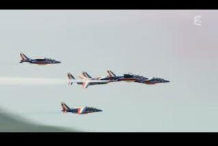 Mardi 23 mars sur FR2 En vol avec l'armée de l'air ( reportage sur le tir d'une ariane 5) - Page 2 Capt_156