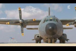 Mardi 23 mars sur FR2 En vol avec l'armée de l'air ( reportage sur le tir d'une ariane 5) - Page 2 Capt_158