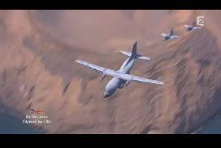 Mardi 23 mars sur FR2 En vol avec l'armée de l'air ( reportage sur le tir d'une ariane 5) - Page 2 Capt_161