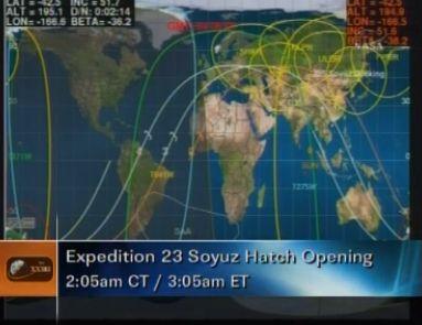 ISS : Amarrage de Soyouz TMA-18 le 4 avril 2010 - Page 2 Capt_194