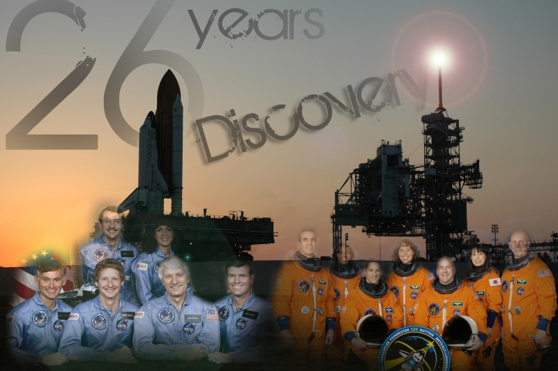 [STS-131] Discovery : préparatifs - Page 8 Discov10