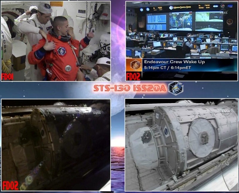 [STS-130] Endeavour : fil dédié au suivi de la mission. L112