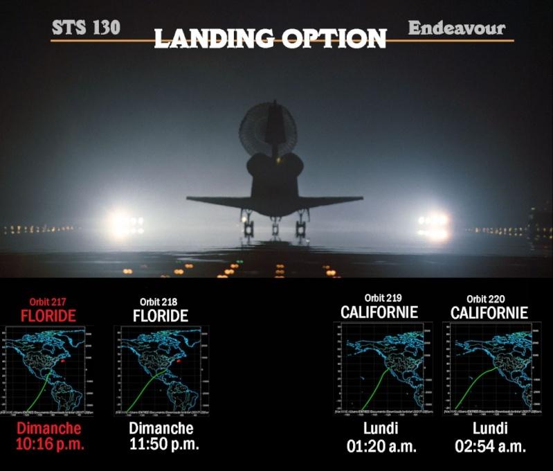 [STS-130] Endeavour : retour sur terre 3h20 GMT le 22/02/201 Landin10