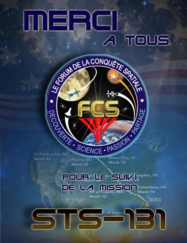 [STS-131 / ISS19A] Discovery : déroulement de la mission - Page 23 Mercif11