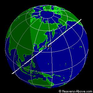 Atterrissage de Soyouz TMA-17 Orbitd10