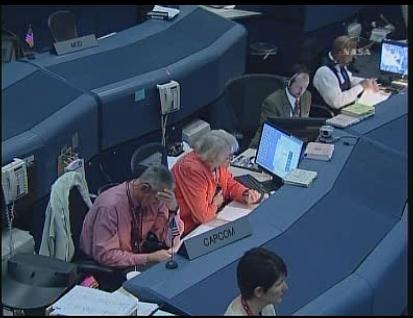[STS-130 endeavour]ISS20A  EVA#3 Behnken & Patricks. fil Sans_104