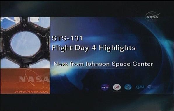 [STS-131 / ISS19A] Discovery : déroulement de la mission - Page 7 Sans_276