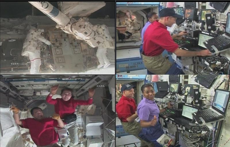 [STS-131 / ISS19A] Discovery : déroulement de la mission - Page 12 Sans_364