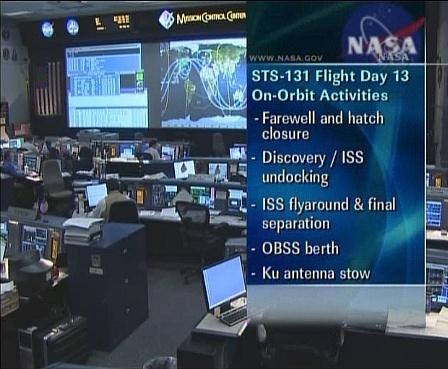 [STS-131 / ISS19A] Discovery : déroulement de la mission - Page 18 Sans_396