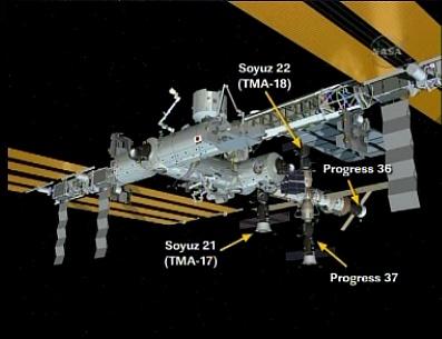 ISS : Amarrage de Progress M-05M le 1er mai 2010 - Page 3 Sans_487
