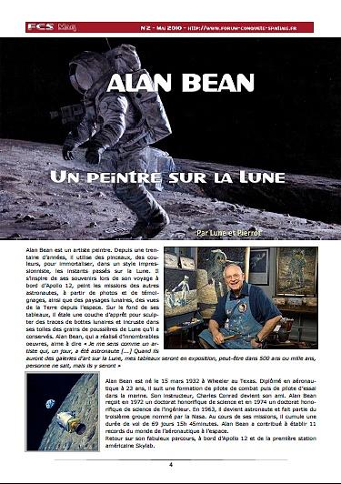 Alan Bean - Artiste astronaute Sans_498