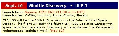 [STS-133] Discovery : Préparatifs (Lancement prévu le 24/02/2011) - Page 3 Sans_712