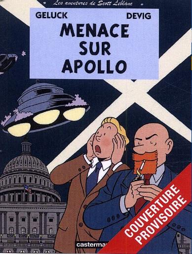 [BD] Menace sur Apollo (Devig, Geluck / Casterman) Sans_892