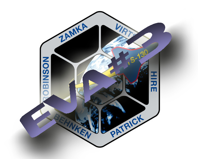 [STS-130 endeavour]ISS20A  EVA#3 Behnken & Patricks. fil Sts13010
