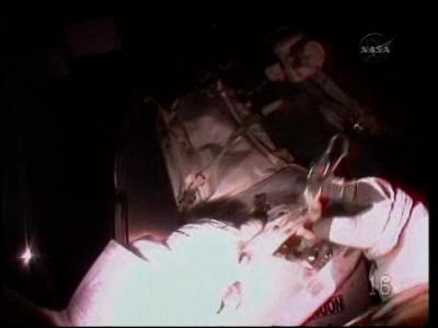 [STS-130 endeavour]ISS20A  EVA#3 Behnken & Patricks. fil Vlcsna36