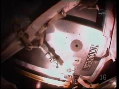 [STS-130 endeavour]ISS20A  EVA#3 Behnken & Patricks. fil Vlcsna37