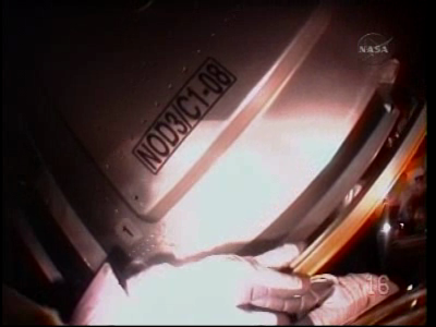 [STS-130 endeavour]ISS20A  EVA#3 Behnken & Patricks. fil Vlcsna39