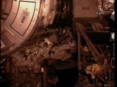 [STS-130 endeavour]ISS20A  EVA#3 Behnken & Patricks. fil Vlcsna40