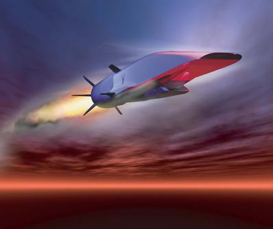 Un vol hypersonique pour le X-51 Waverider. X5110