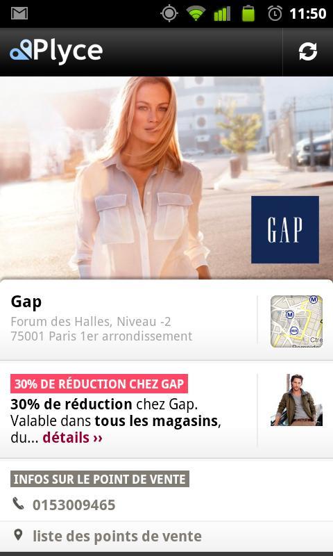 [SOFT] PLYCE : Shopping et bon de réduction [Gratuit]  Screen10