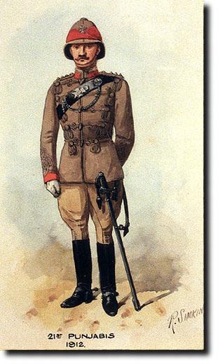 Uniforme du Lieutenant-Colonel T.F.H.J.J. Kelly, Indian Army Staff 21stpu10