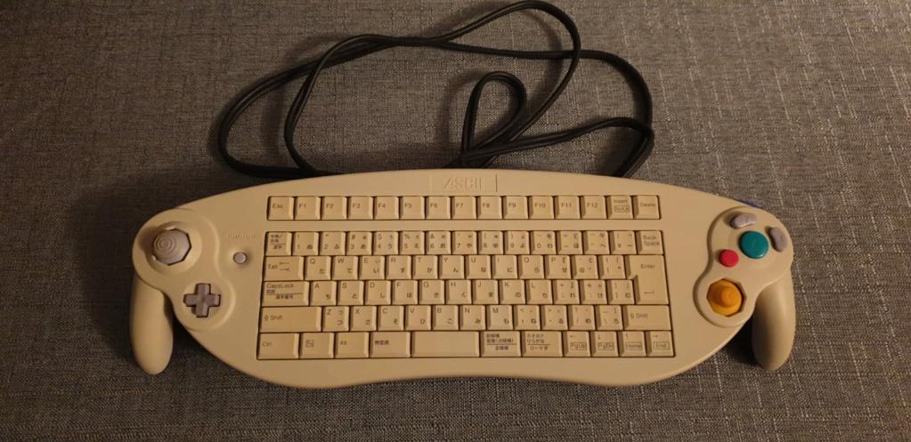 [VDS] ASCII Keyboard Controller Gamecube Whatsa10