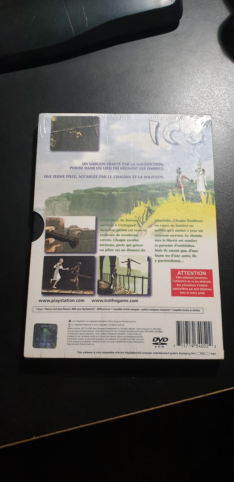 [VDS] ICO Collector Ps2 PAL FR NEUF Whatsa17