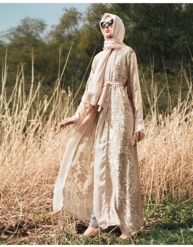 أجمل اطلالات العبايات لعيد الفطر -أجمل اطلالات عبايات خليجية 2019 Abayas10