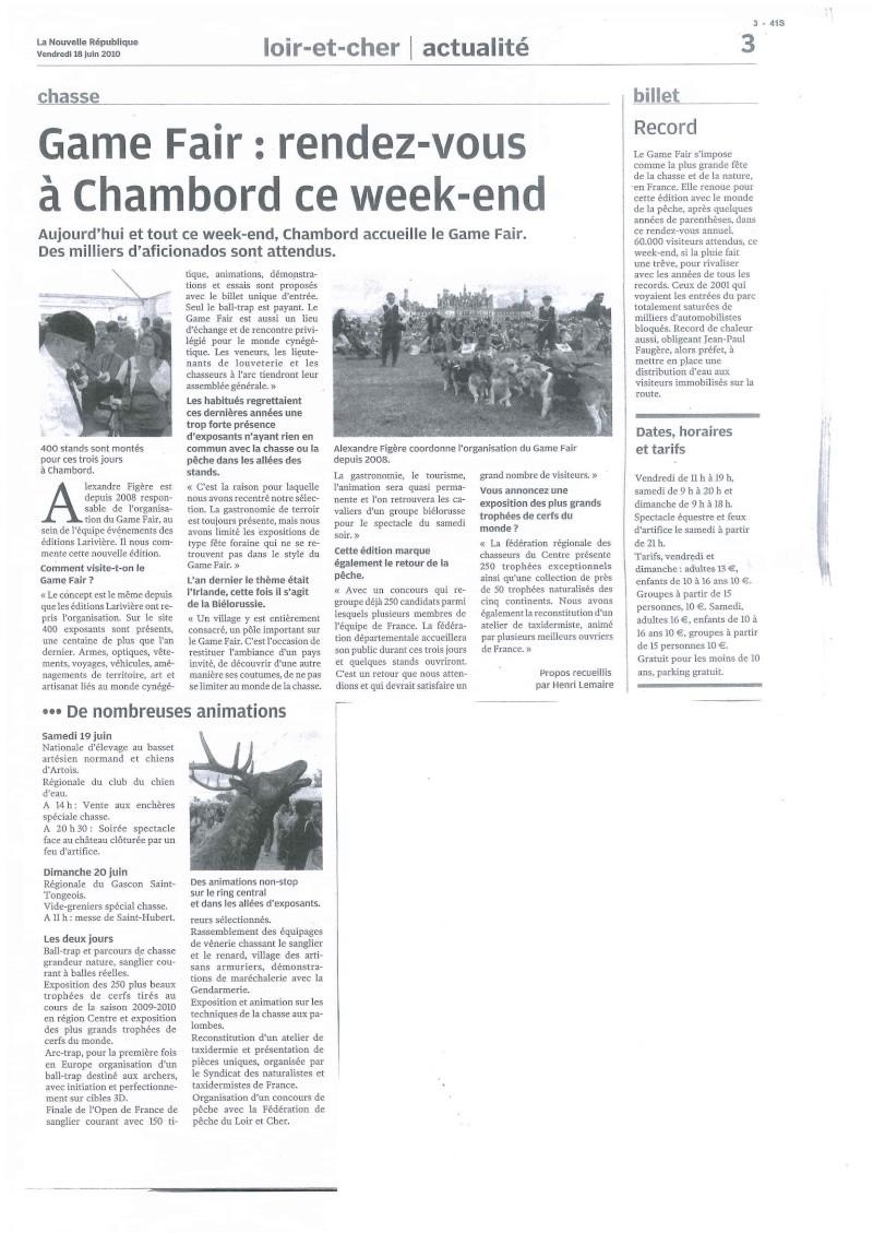 Game Fair 2010 à Chambord 18,19 et 20 juin 2010 18_06_10
