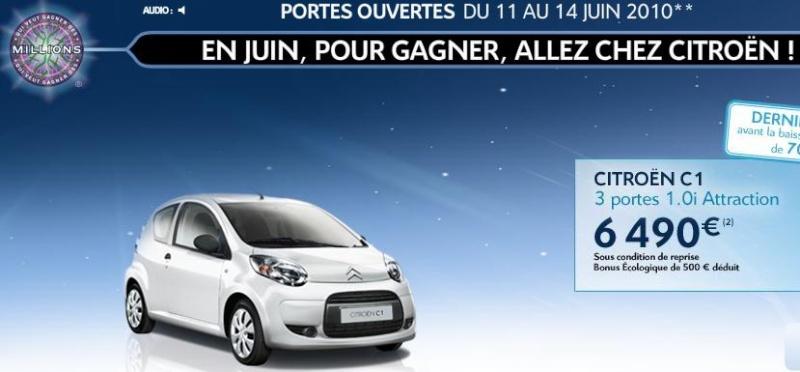 [ACTUALITE] Les promotions de Citroën - Page 2 C110