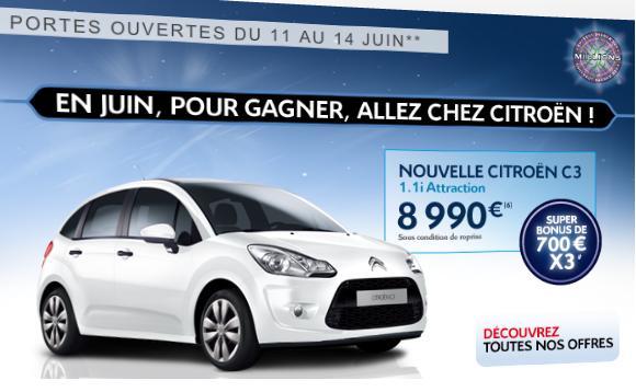 [ACTUALITE] Les promotions de Citroën Citro10