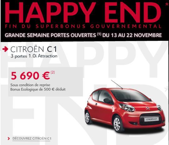 [ACTUALITE] Les promotions de Citroën - Page 3 He110