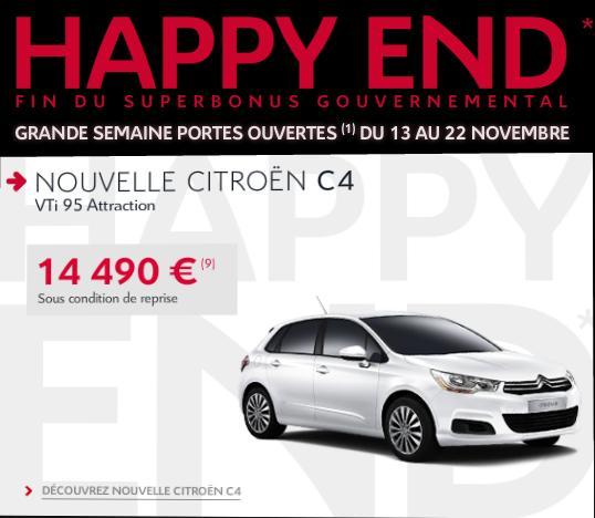 [ACTUALITE] Les promotions de Citroën - Page 3 He210