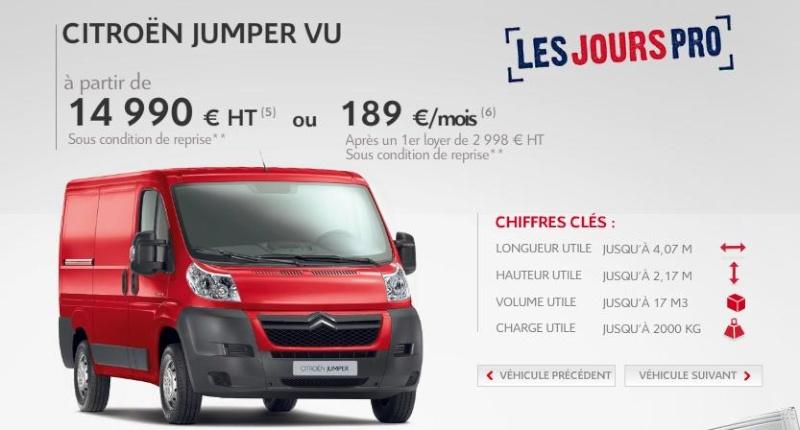 [ACTUALITE] Les promotions de Citroën Jum10