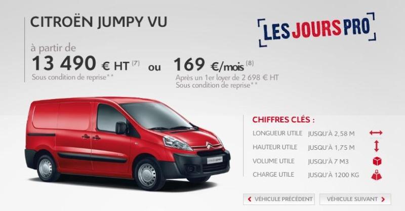 [ACTUALITE] Les promotions de Citroën Jumy10