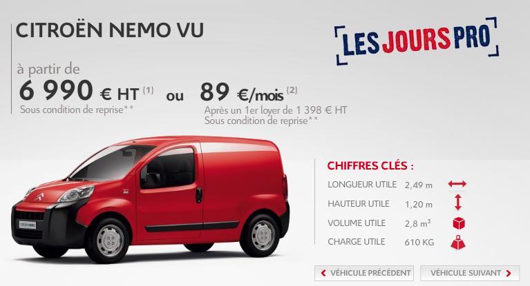 [ACTUALITE] Les promotions de Citroën Namo10