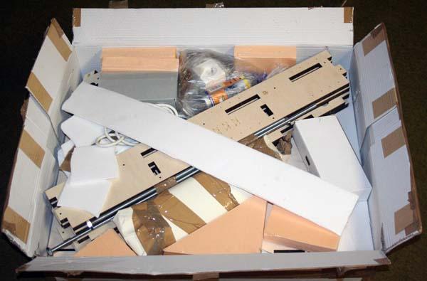 Mini Fraiseuse CNc en Kit 0211